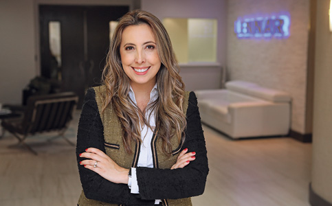 Carolina Herrera: President of the Builders Association of South Florida