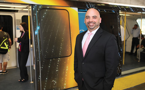 Javier Betancourt: Envisions a variety of tools to expand county's transit