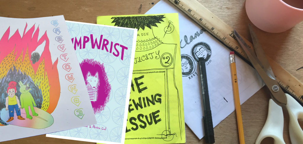Feminist Zine Workshop