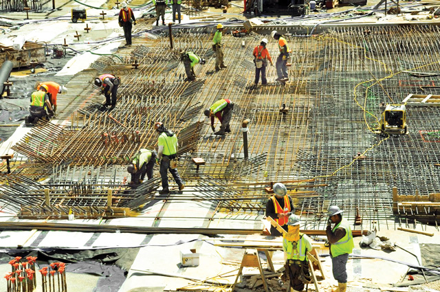 Construction jobs boom might have short life