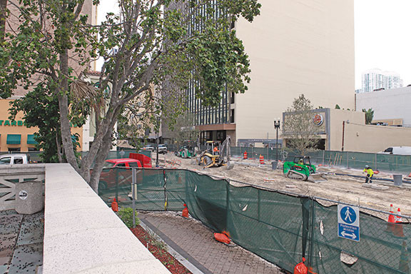 Renovations on Flagler Street delayed once again