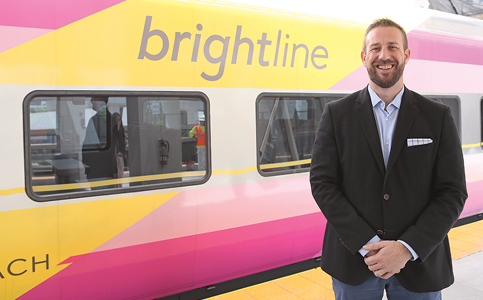 Patrick Goddard: President sees bright future elsewhere too for Brightline