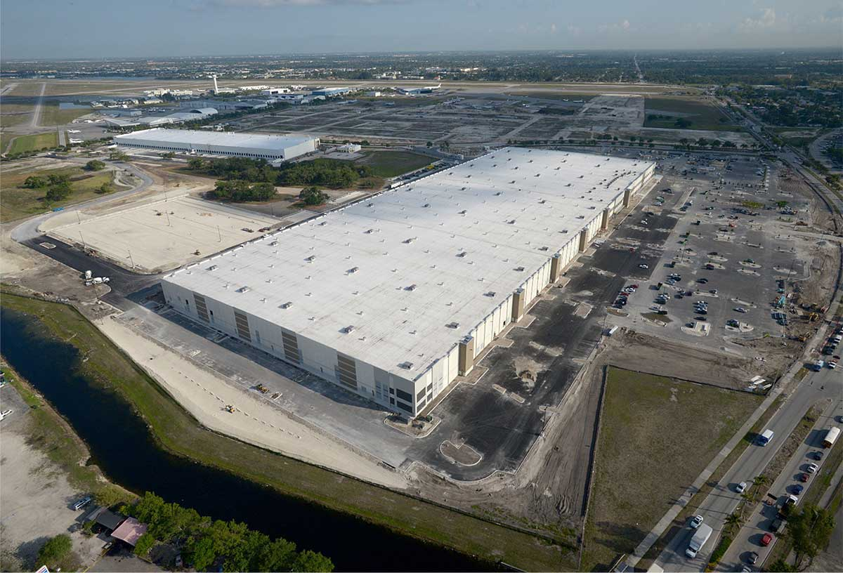 Amazon's major Miami fulfillment hub nearly done