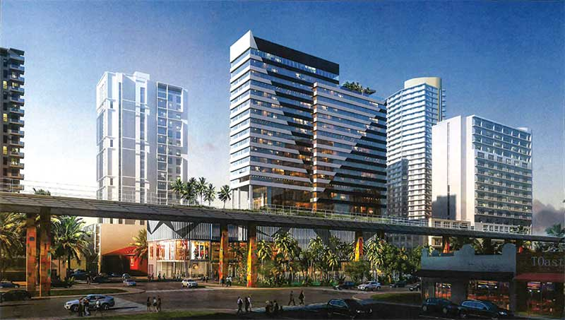 Plans for Brickell's dual-flag hotels underscore the impact of Underline