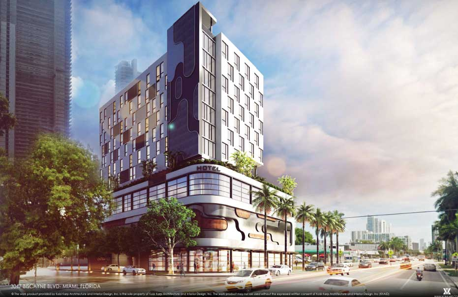 Prime Biscayne Property's 13-story Edgewater hotel gains development review OK