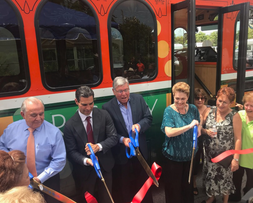Miami's trolleys now are rolling citywide