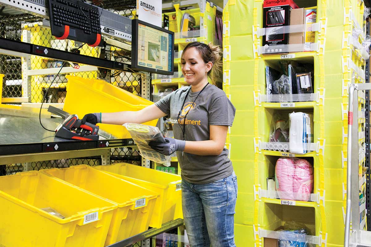 1,000 Amazon hires in Miami to work alongside robots