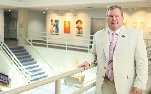 David Armstrong: Aims to streamline St. Thomas University for growth