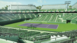 County putting tennis center in center court