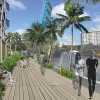 Developer to build park on river