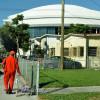 Soccer stadium play labels ballpark area 'slum'