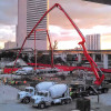 Massive pour keeps MiamiCentral on track for All Aboard Florida