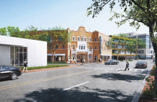 Coconut Grove Playhouse patch: post office parking lot?