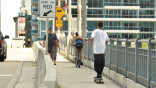 Pedestrian gates next answer to Brickell Bridge gridlock