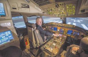 Flight training center plans major investment