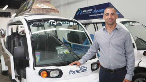 Jason Spiegel: Driving Freebee local transit into many communities