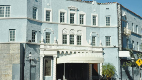 Shalala talks of role in Grove Playhouse restoration