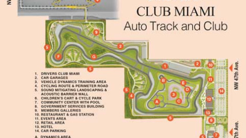 Luxury private Drivers Club Miami doesn't race to starting line