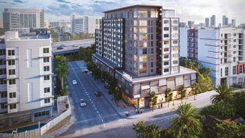 Business hotel to rise in Overtown