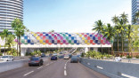 Miami Beach kaleidoscopic bridge inches toward reality