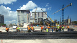 Vast Plaza Coral Gables rising in segments