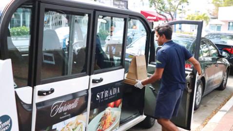 Coconut Grove leaders, Freebee unit to aid restaurants