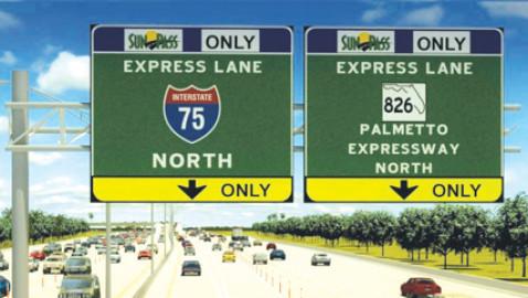 Major roadwork on Palmetto Expressway drives ahead