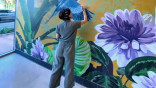 Designer-crafted floral-centric murals are headed to Miracle Mile