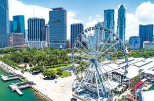 Bayside observation wheel gives thousands bird's-eye views