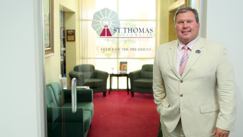 New St. Thomas University pandemic center to fund businesses