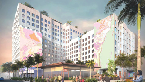 Multi-use Wynwood project with hotel wins design OK