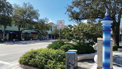 Coral Gables central business district healthy, adding on