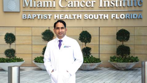 Dr. Manmeet Ahluwalia: Deputy director at Baptist Health's Miami Cancer Institute