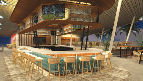 Grove's Regatta Harbour says waterfront bar & grill is near