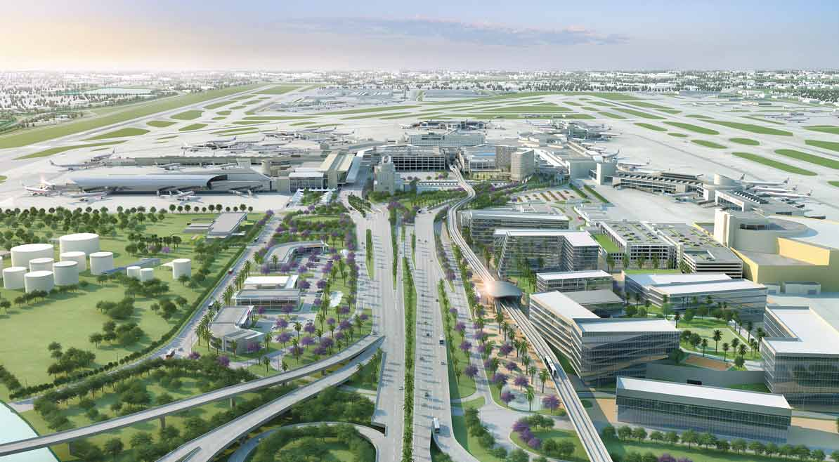Airport City visions fly on collision course