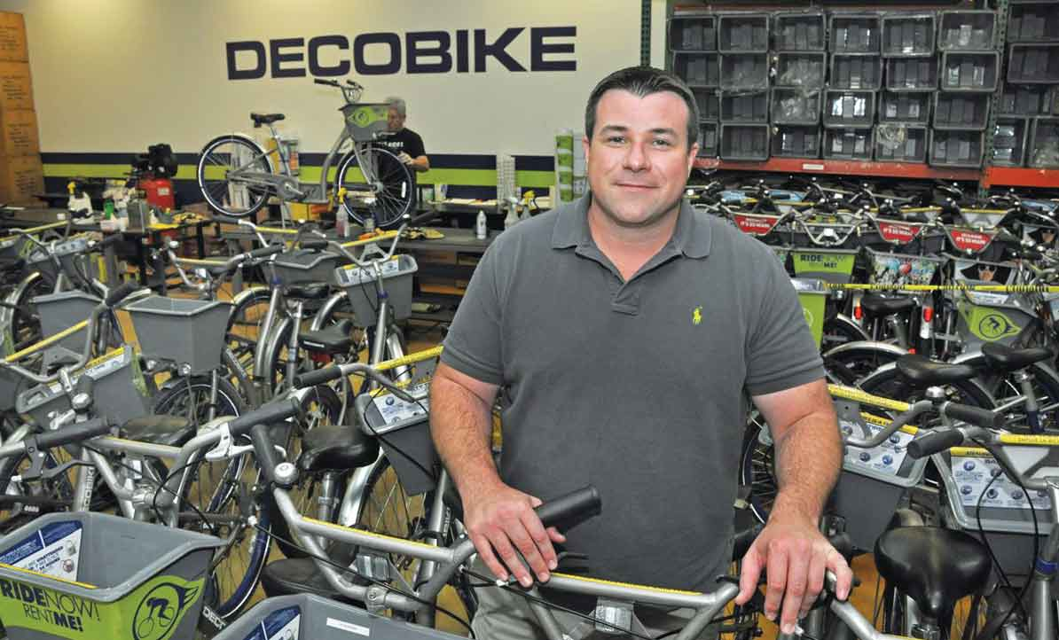 DecoBike coasts toward Miami