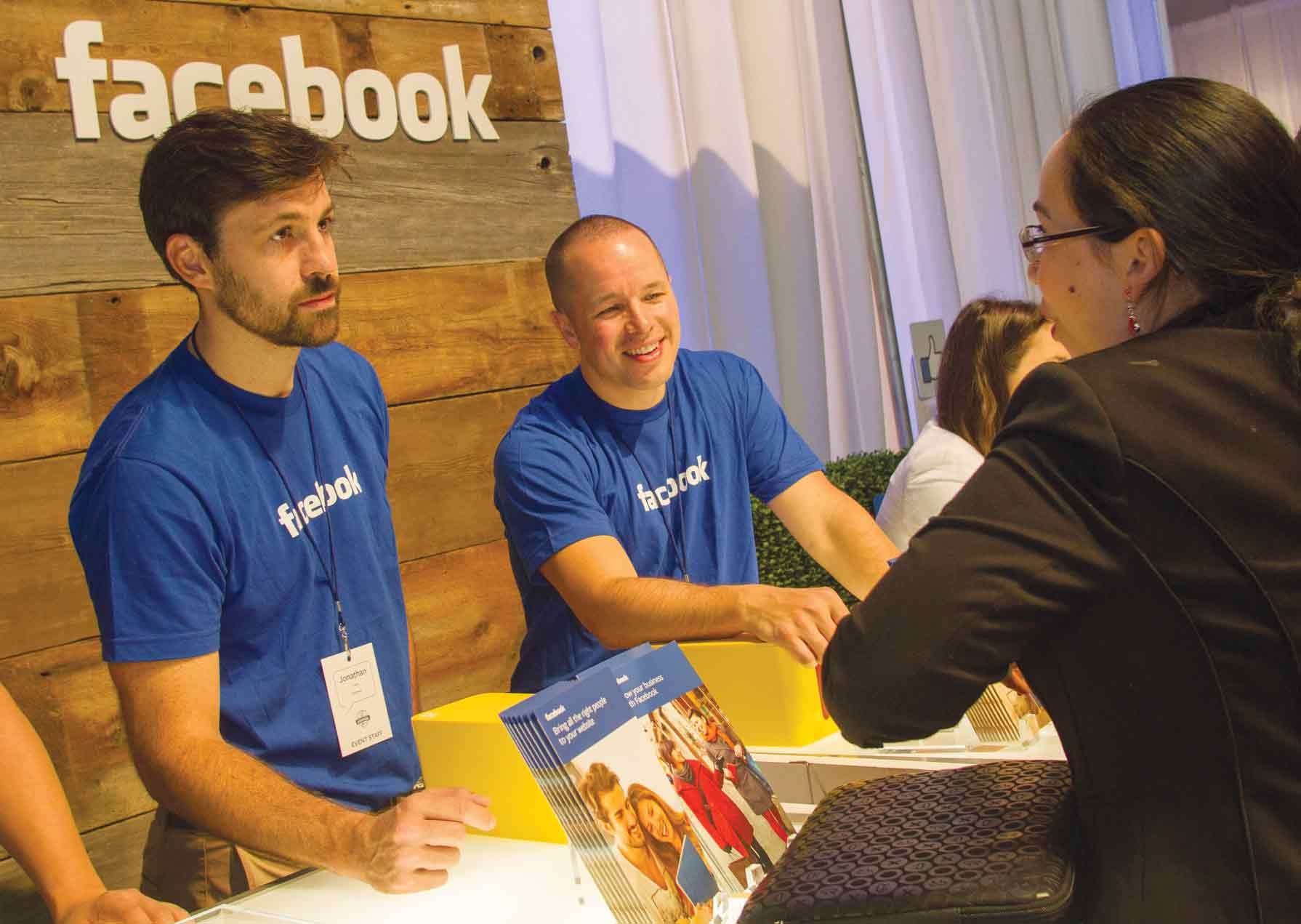 Facebook faces small businesses