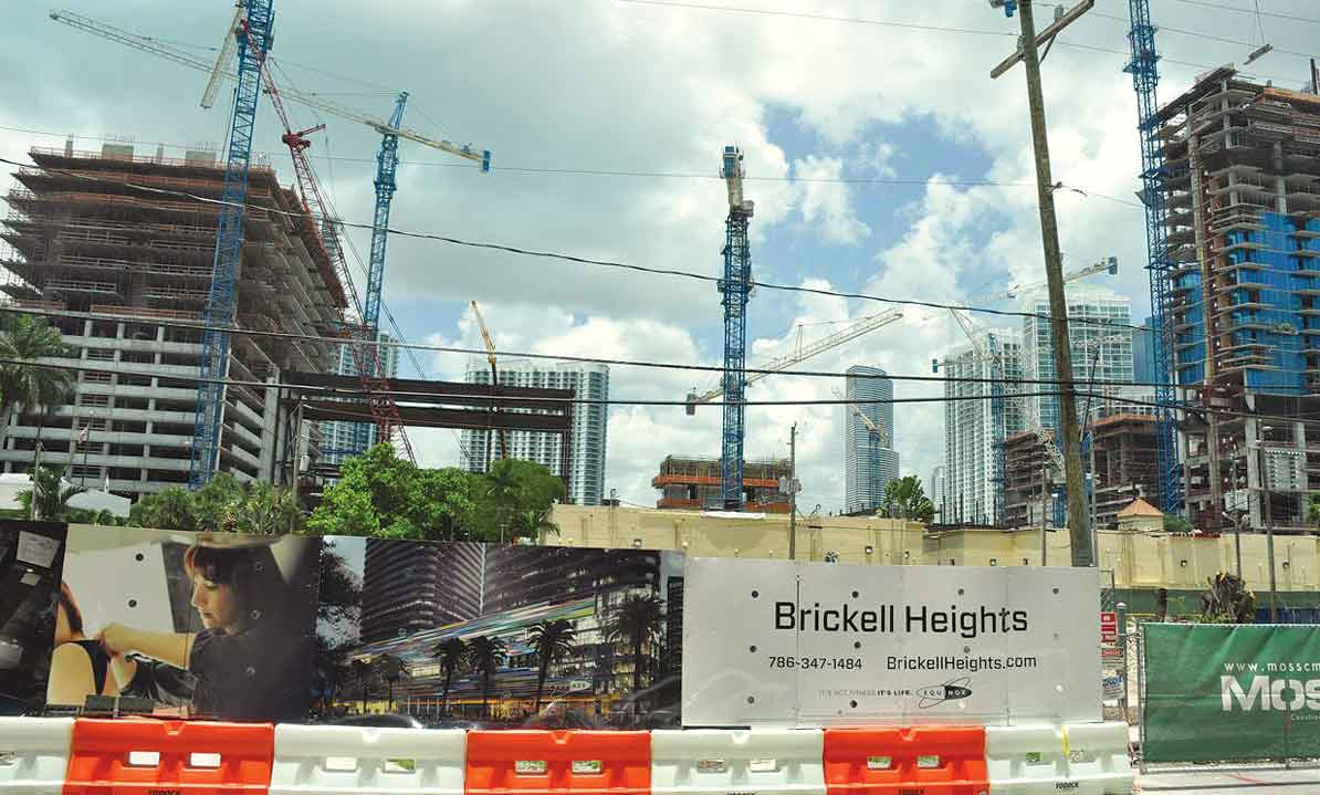 Fastest housing growth in Brickell, Edgewater