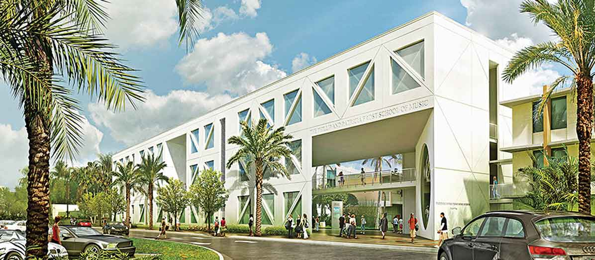 University of Miami's eco-friendly campus remake