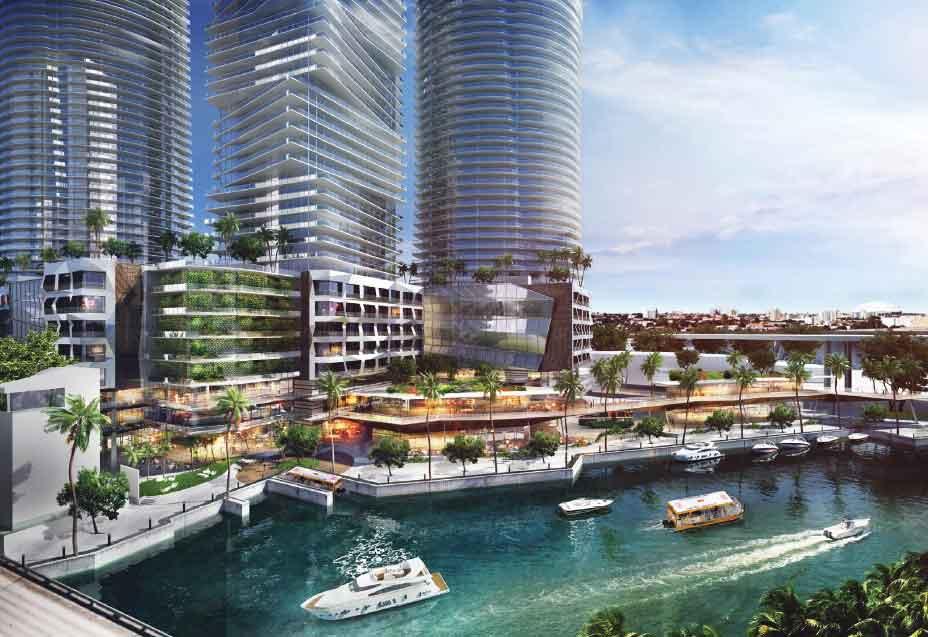 4 towers on river seek double density