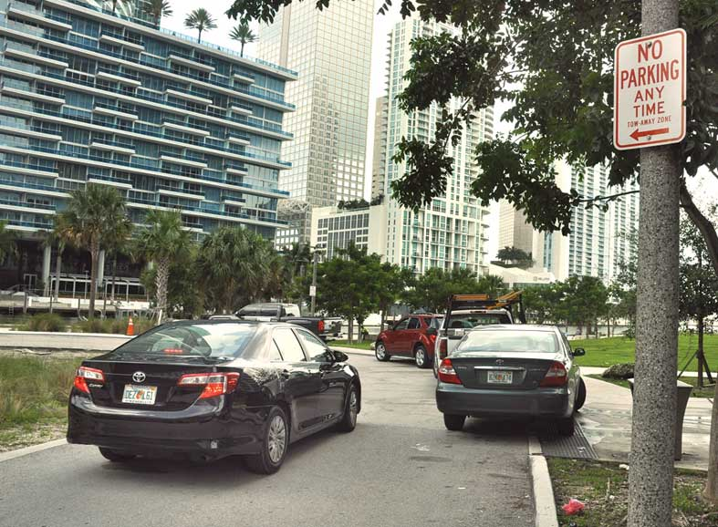 Miami Circle parking goes round in circles