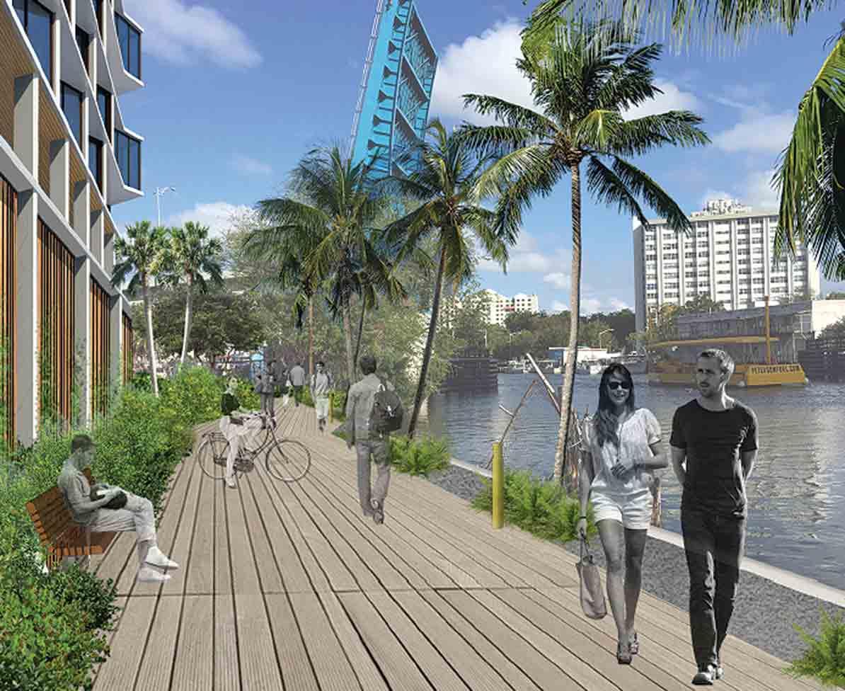 Developer to build park on river