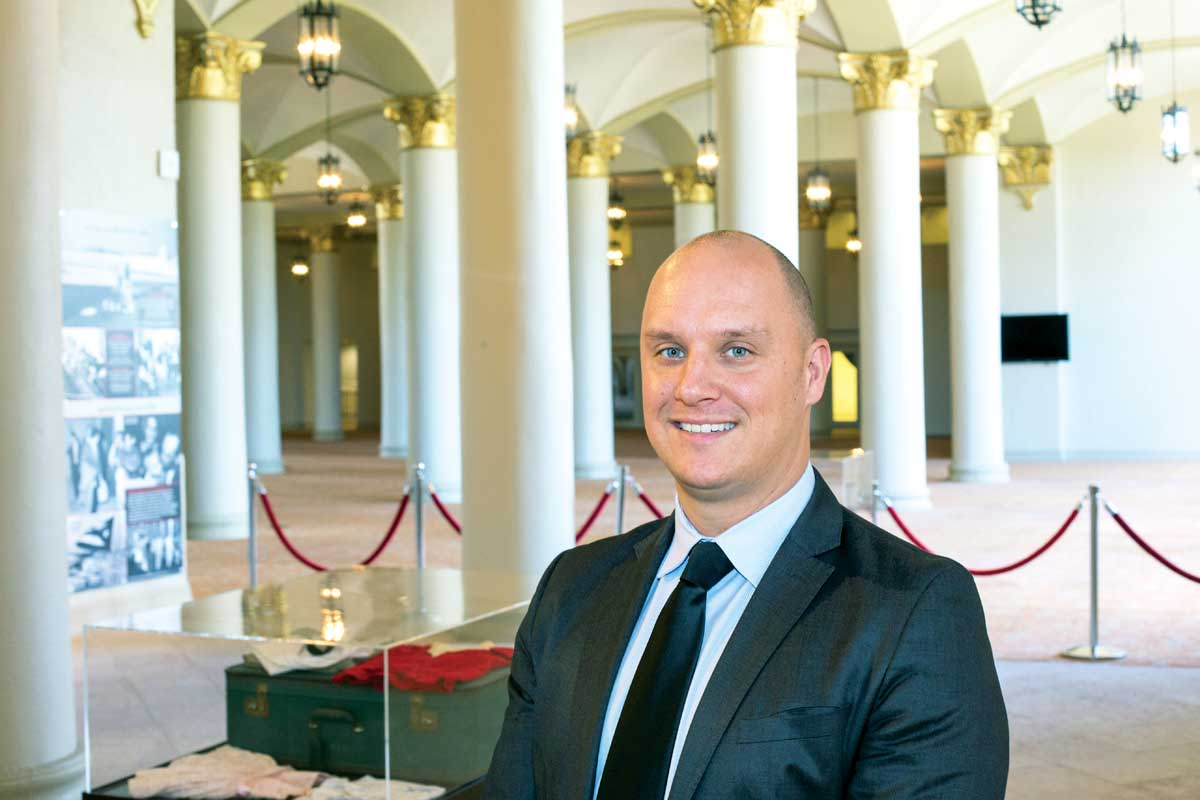 Jeremy Mikolajczak: Making Miami Dade College's museum prominent