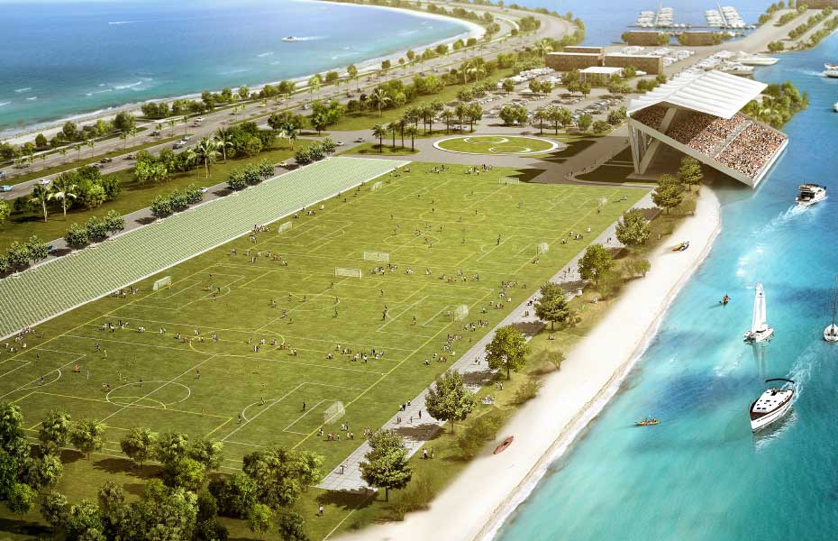 Businesses may define Marine Stadium use