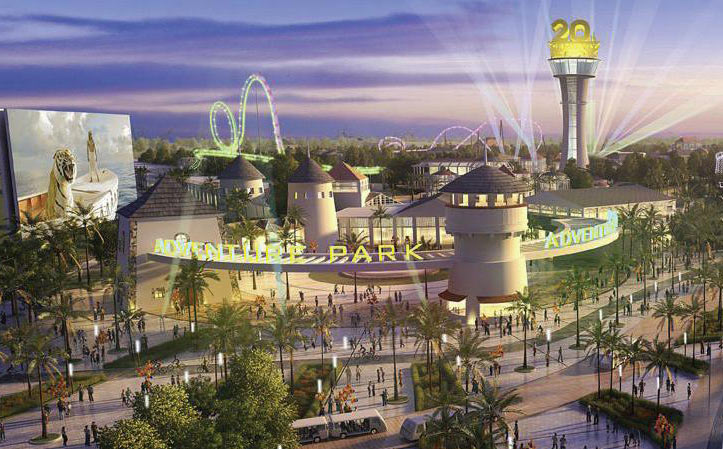 Theme park has fallback plan