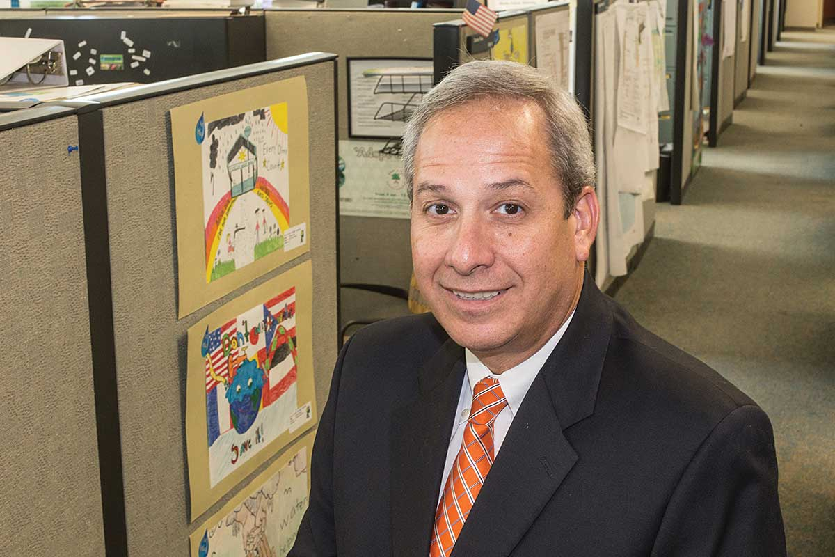 Lester Sola: Spearheading mammoth water and sewer upgrades
