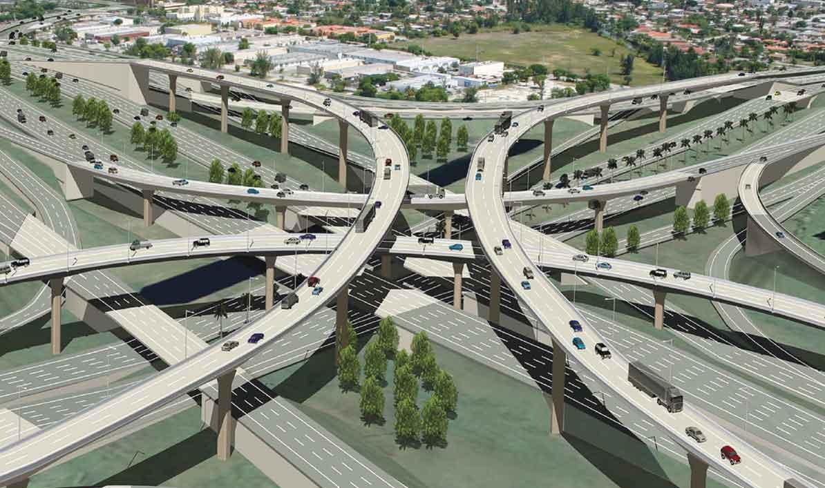 826-836 interchange on fast track
