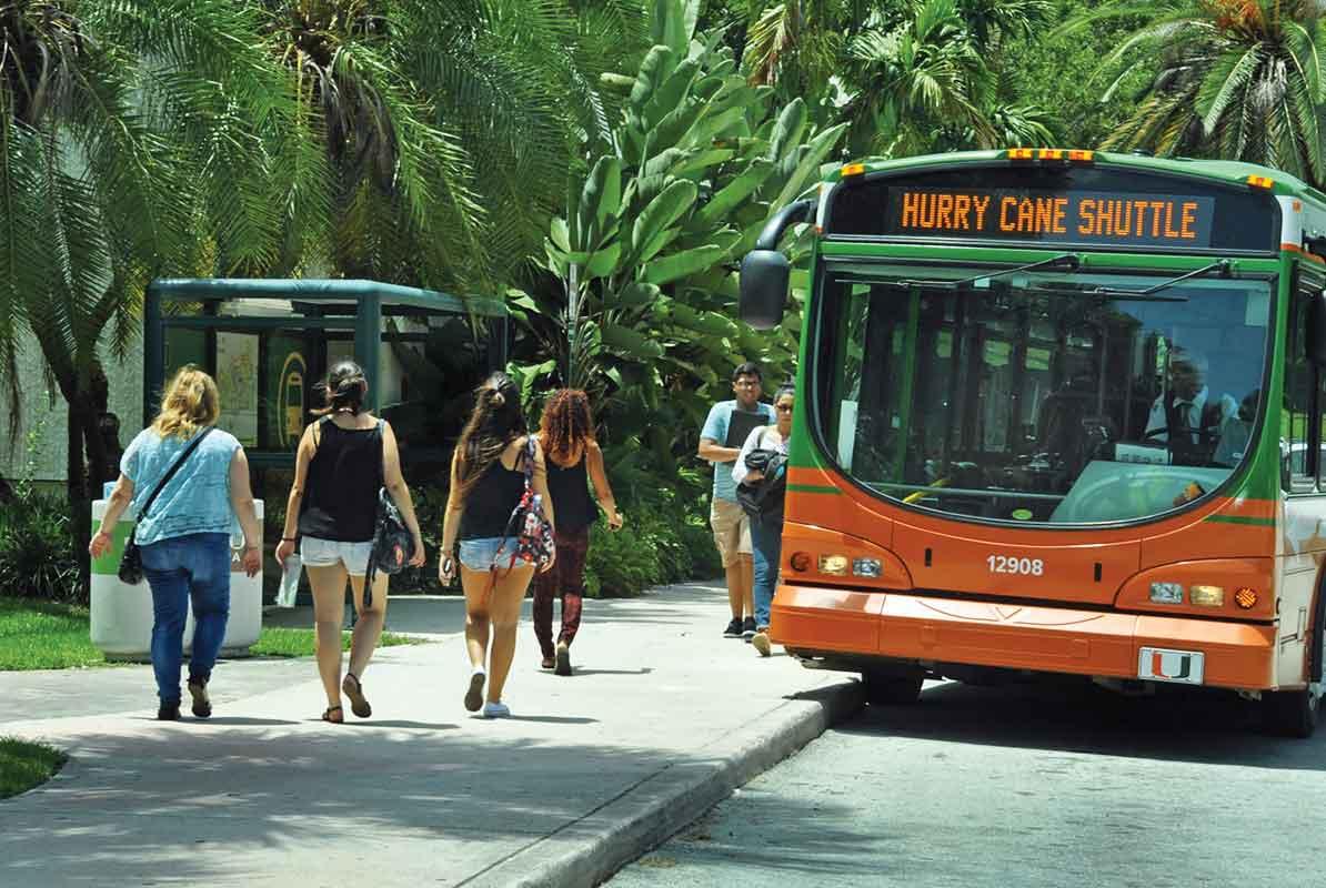 UM reverses campus traffic growth
