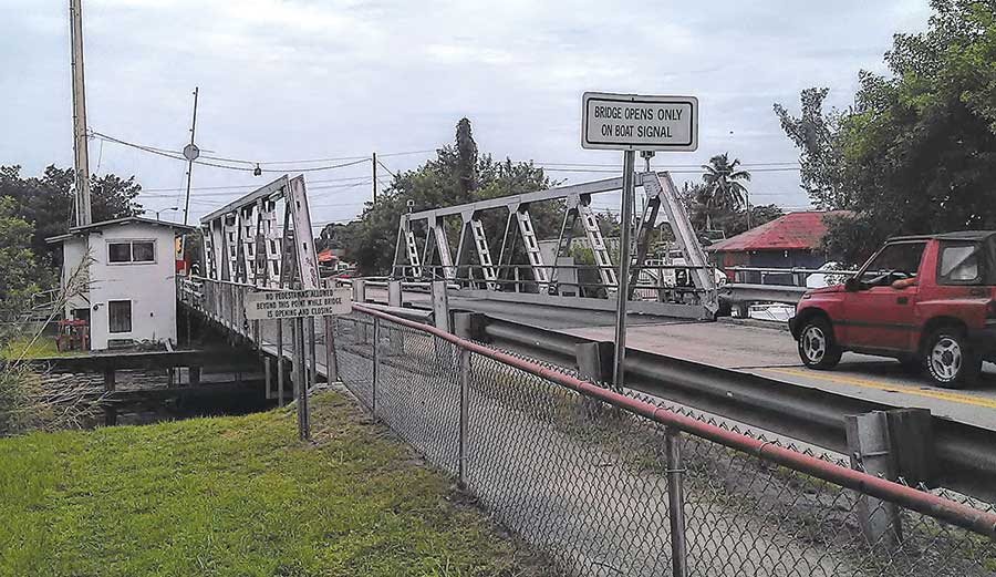Aged bridge to be replaced, moved elsewhere