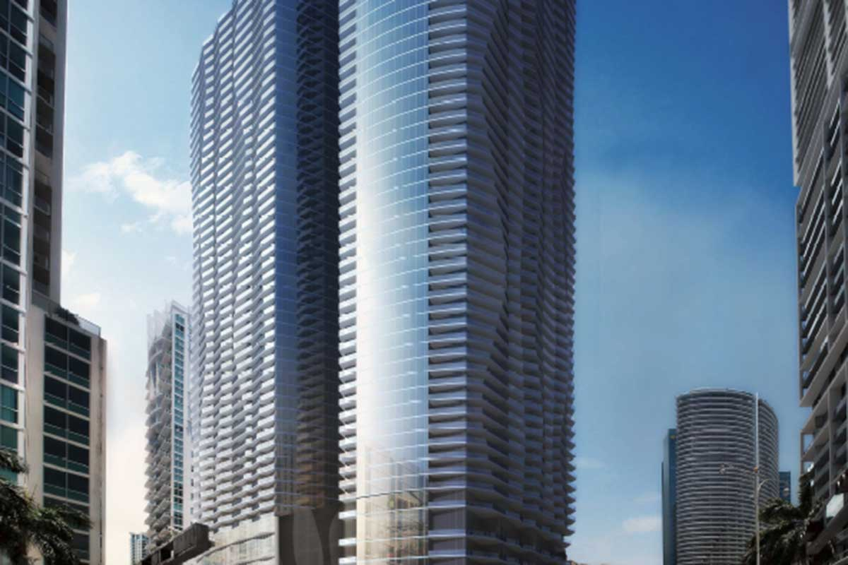 Related to pre-sell 3 Brickell towers as year begins